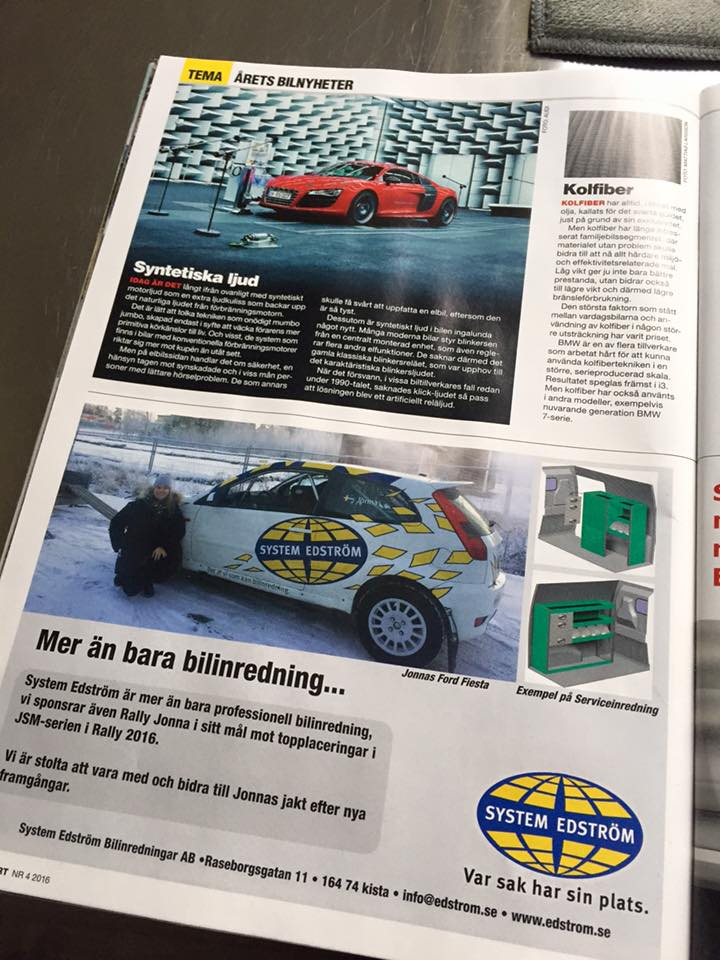 Annons Bilsport4